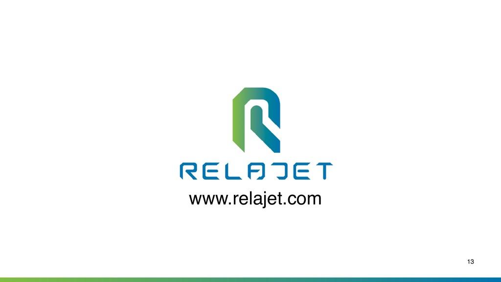 13 www.relajet.com