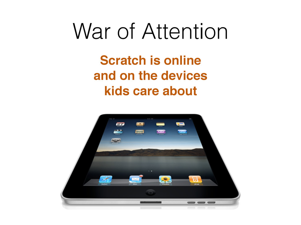War of Attention Scratch is online! and on the ...