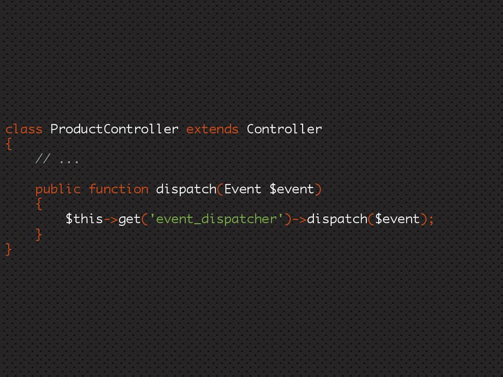 class ProductController extends Controller { //...