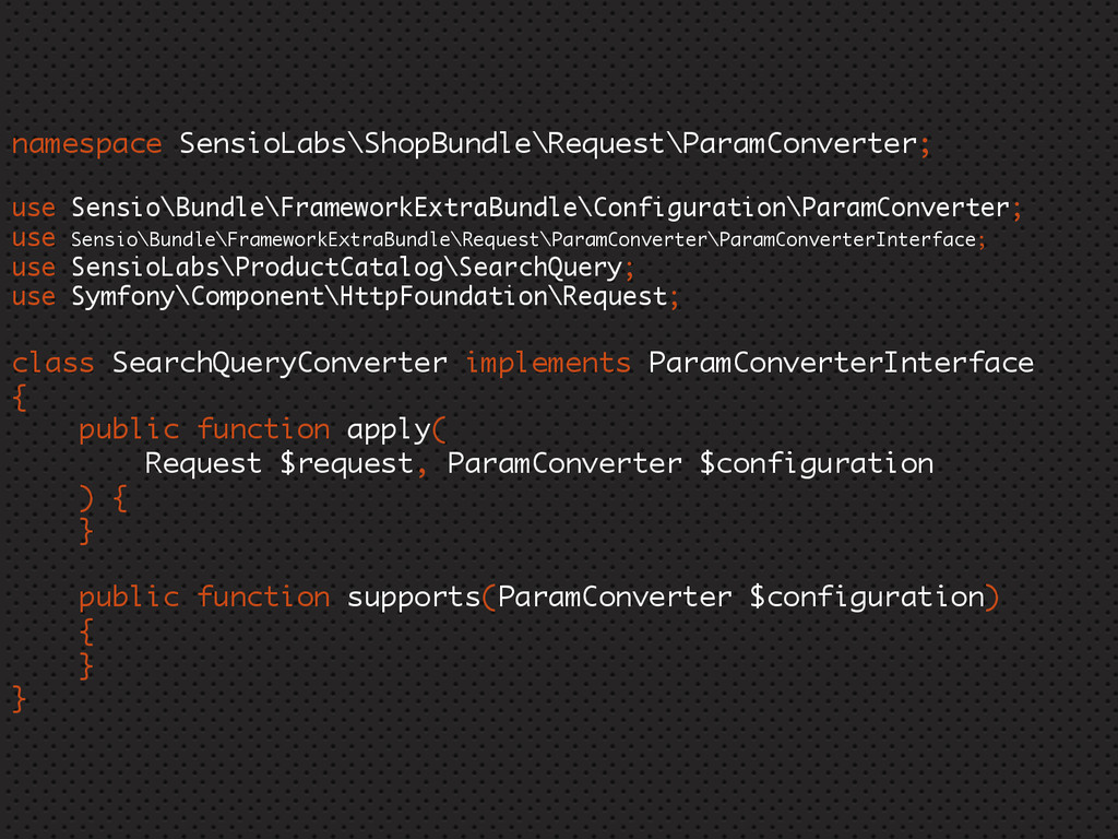 namespace SensioLabs\ShopBundle\Request\ParamCo...