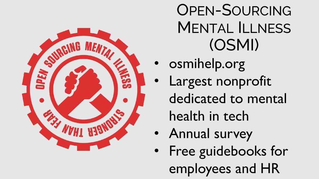 • osmihelp.org • Largest nonprofit dedicated to...