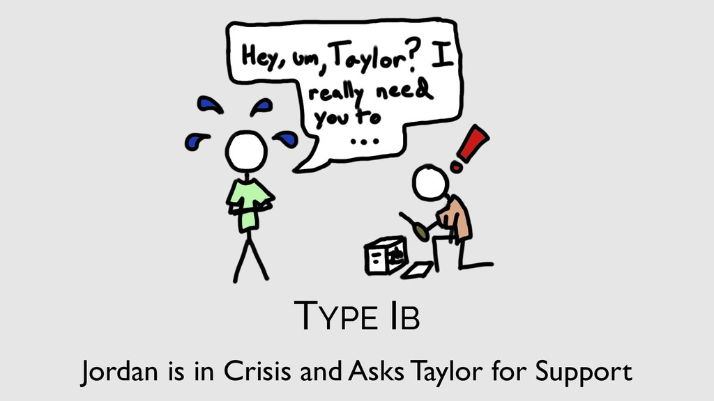 TYPE IB Jordan is in Crisis and Asks Taylor for...