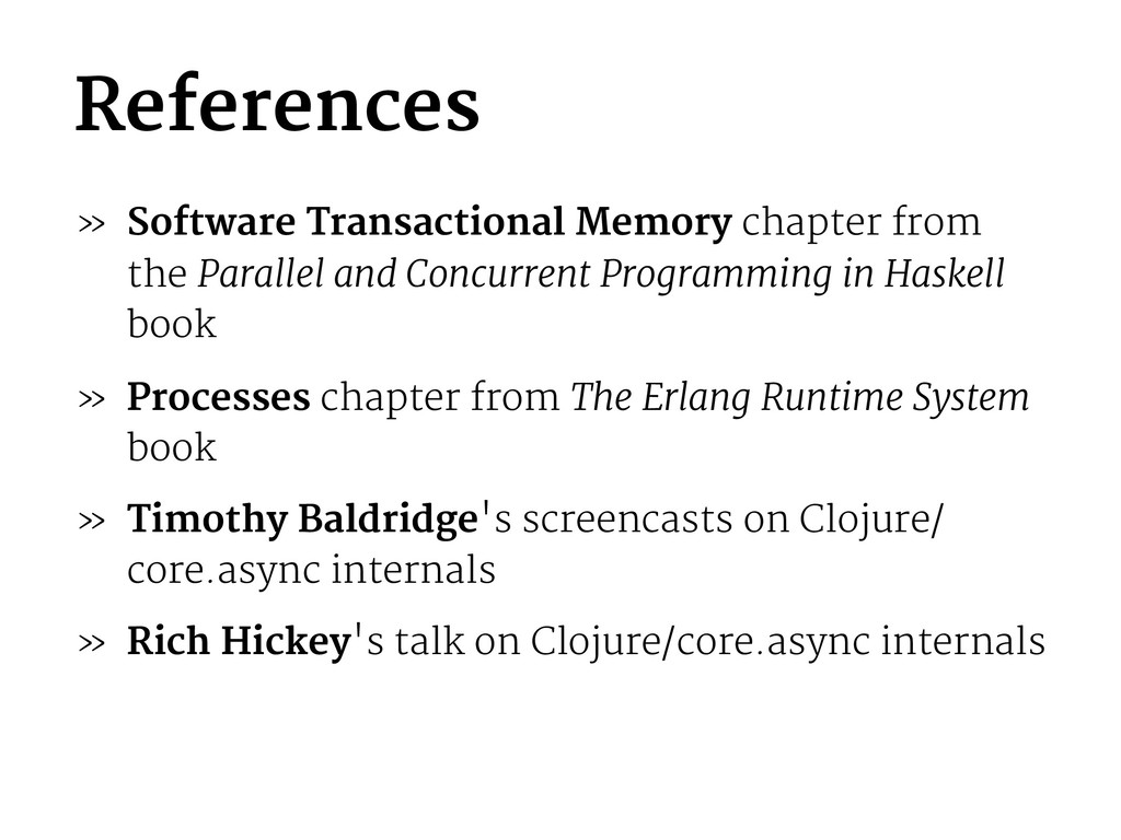 References » Software Transactional Memory chap...