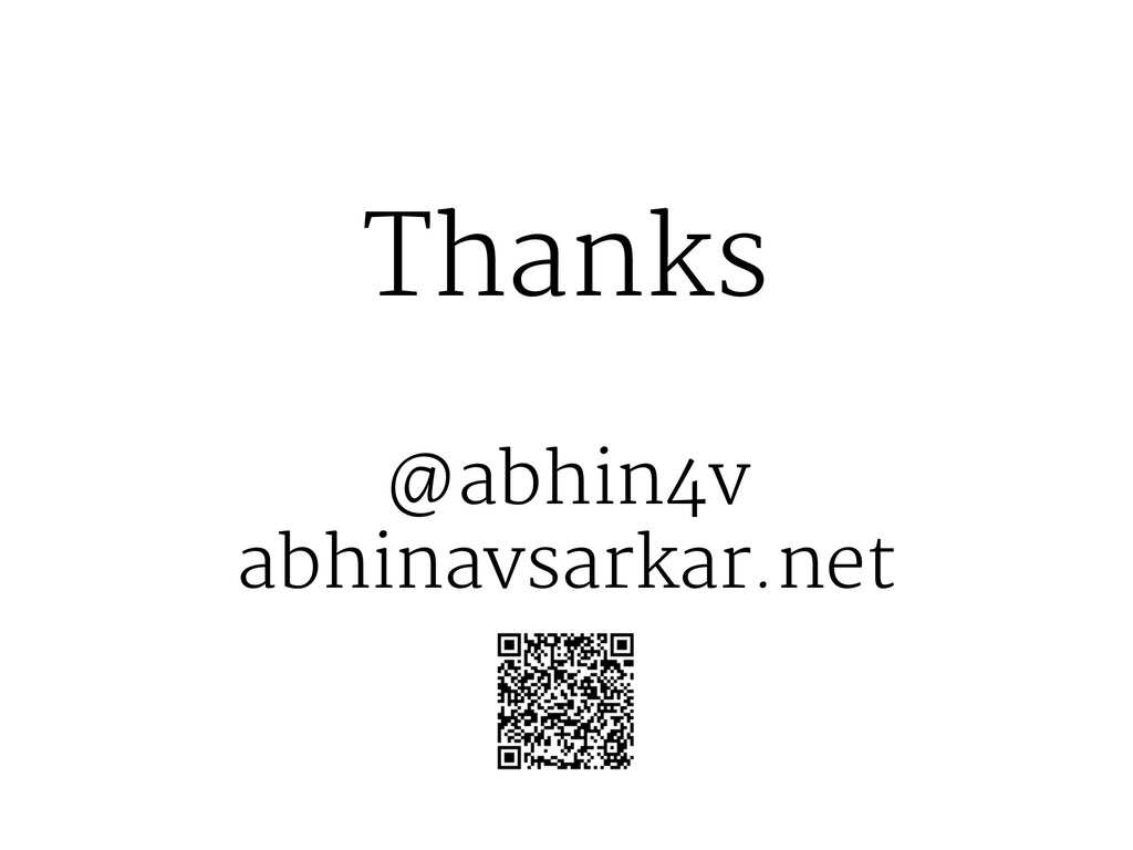 Thanks @abhin4v abhinavsarkar.net