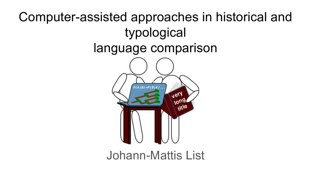 Computer-assisted approaches in historical and ...