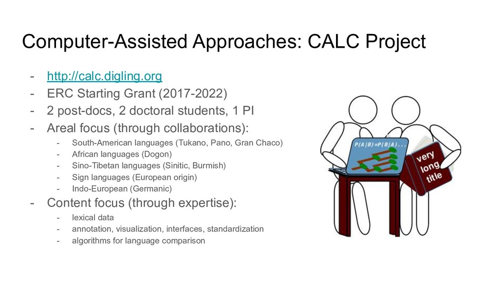 Computer-Assisted Approaches: CALC Project - ht...