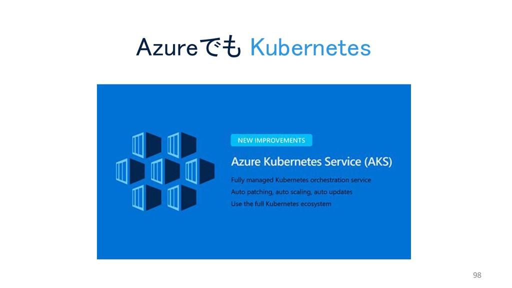 Azureでも Kubernetes 98