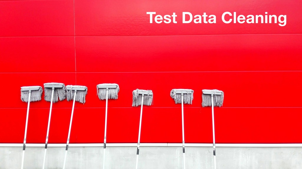 Test Data Cleaning