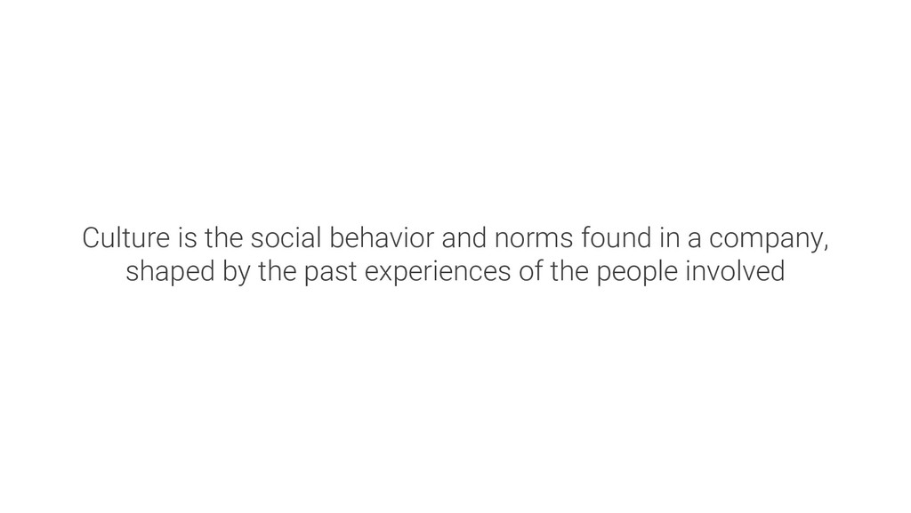 Culture is the social behavior and norms found ...