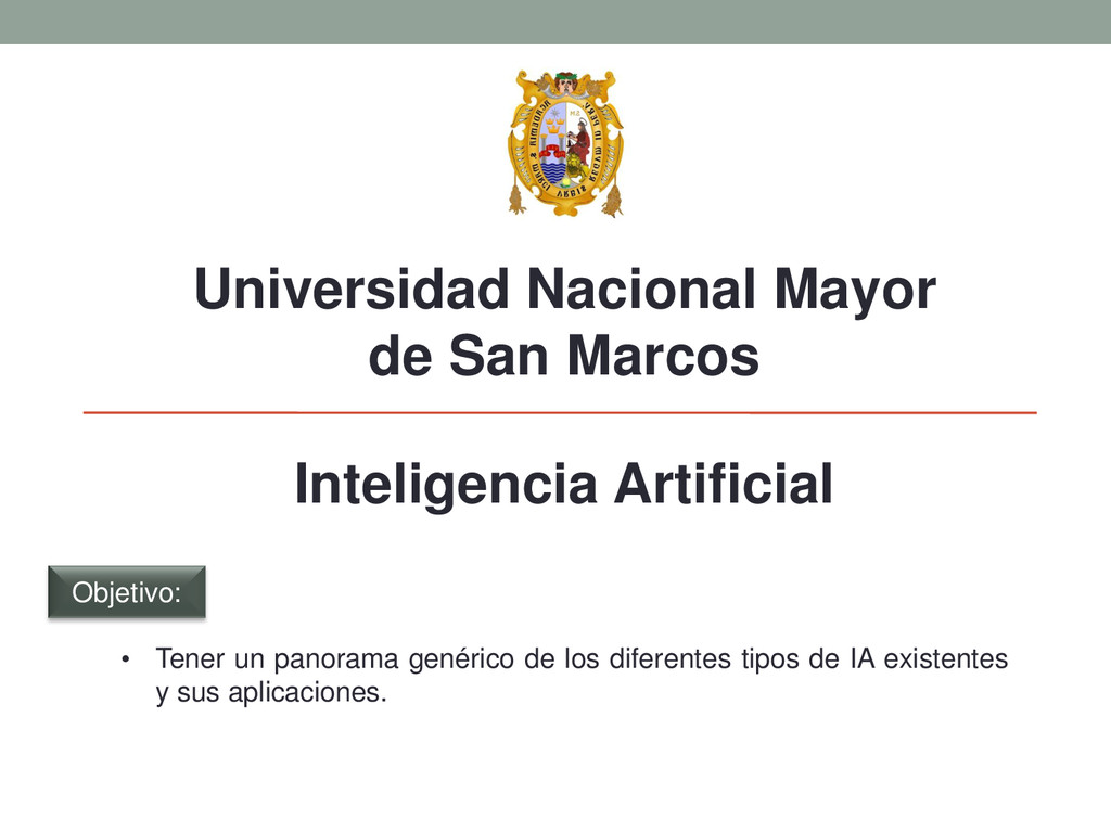 Universidad Nacional Mayor de San Marcos Inteli...