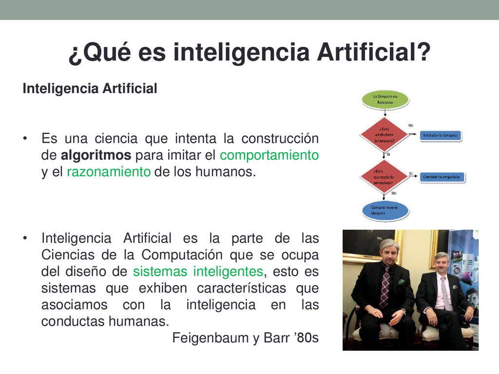 ¿Qué es inteligencia Artificial? Inteligencia A...