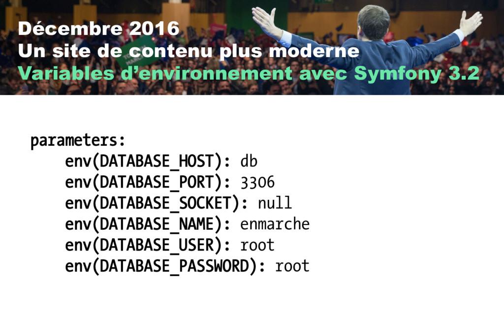 Décembre 2016 Un site de contenu plus moderne V...