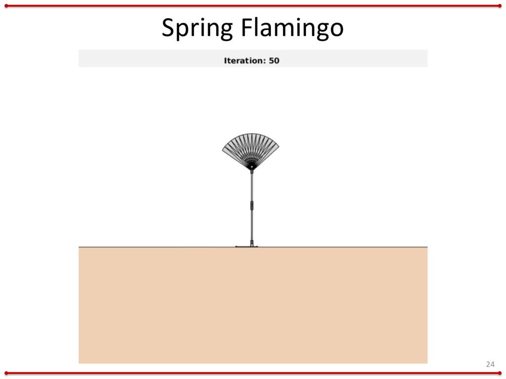 Spring Flamingo 24
