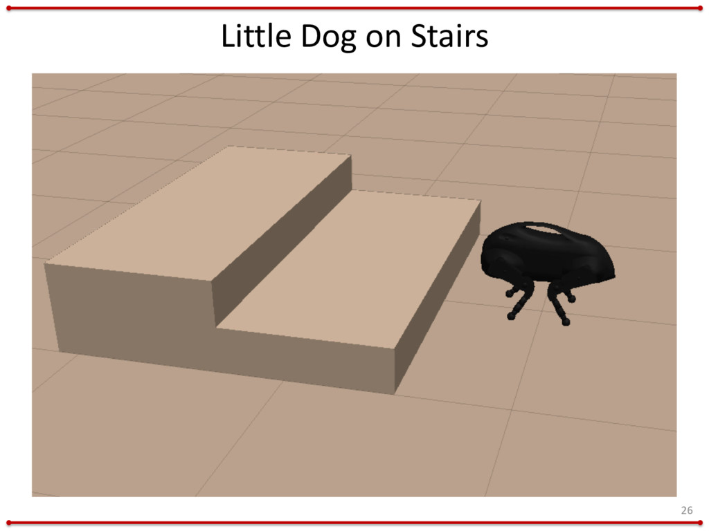Little Dog on Stairs 26