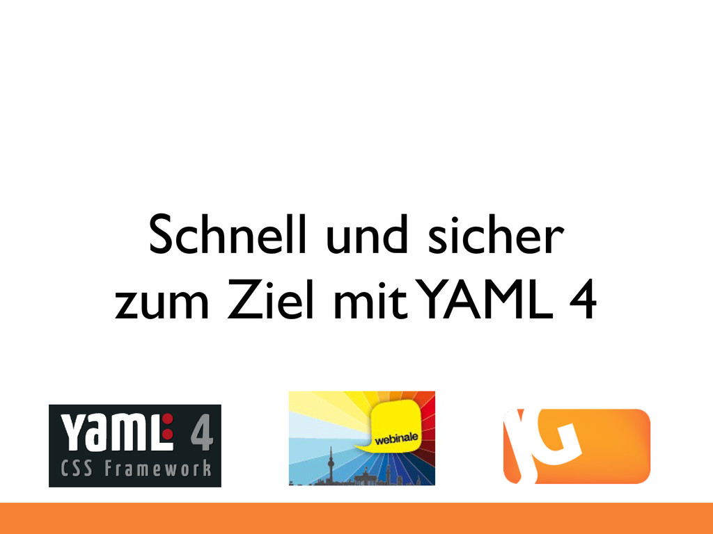 Schnell und sicher zum Ziel mit YAML 4