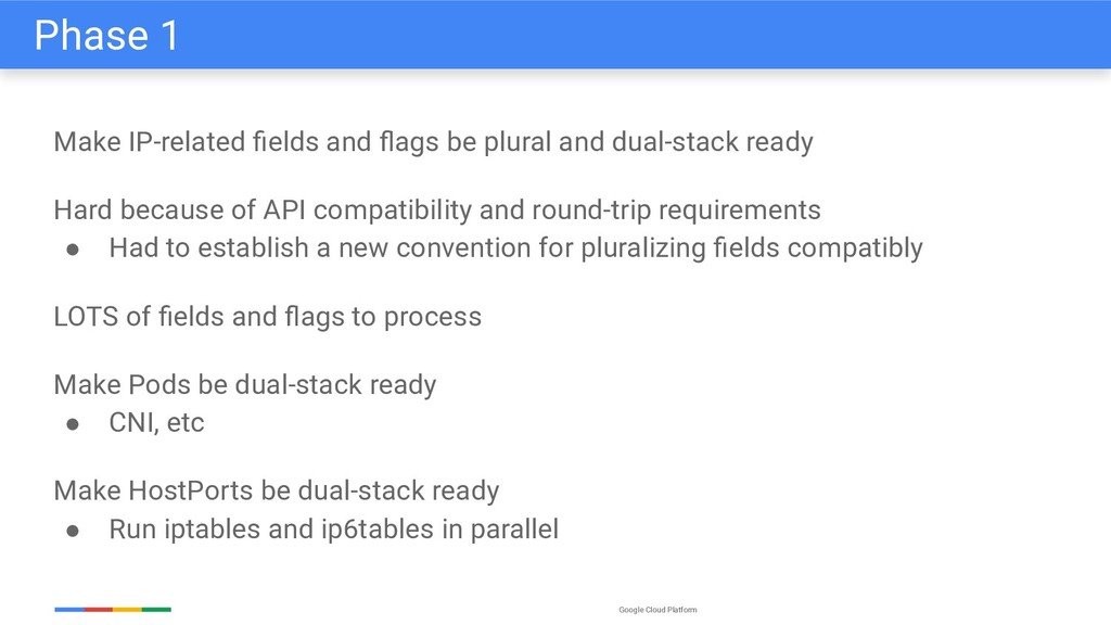 Google Cloud Platform Make IP-related fields and...