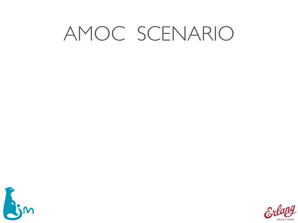 AMOC SCENARIO