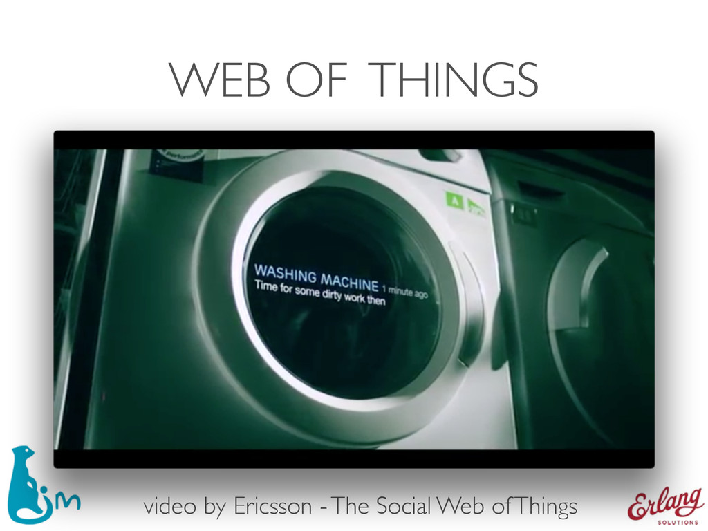 WEB OF THINGS video by Ericsson - The Social We...