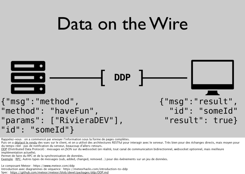 """Data on the Wire [ ] DDP {""""msg"""":""""method"""", """"meth..."""