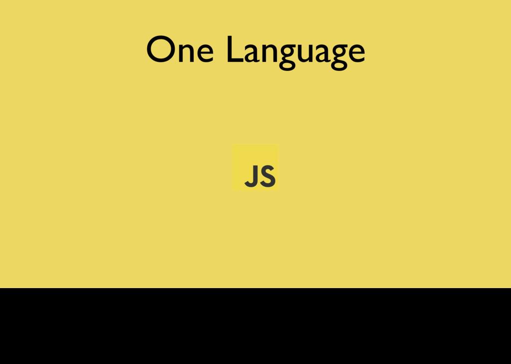 One Language Meteor permet d'écrire tant les co...