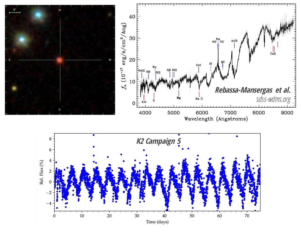 Rebassa-Mansergas et al. sdss-wdms.org K2 Campa...