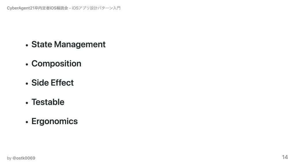 State Management Composition Side Effect Testab...