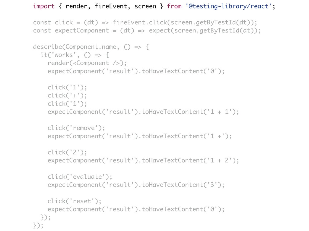 import { render, fireEvent, screen } from '@tes...