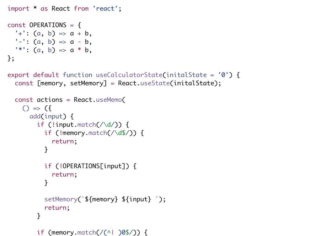 import * as React from 'react'; const OPERATION...