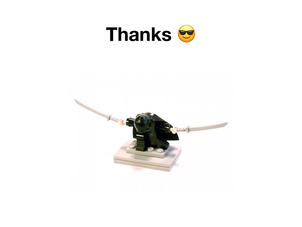 Thanks .