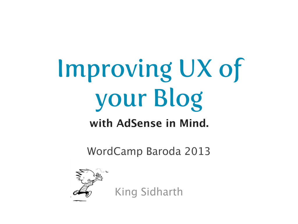 Improving UX of your Blog with AdSense in Mind....