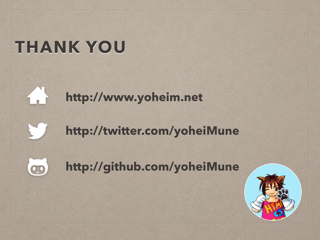 http://github.com/yoheiMune http://www.yoheim.n...