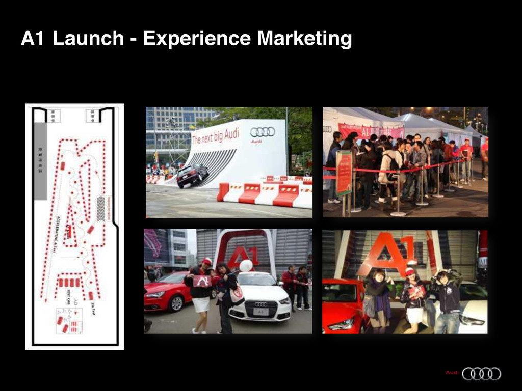 7 Audi Taiwan, A1 Launch - Experience Marketing