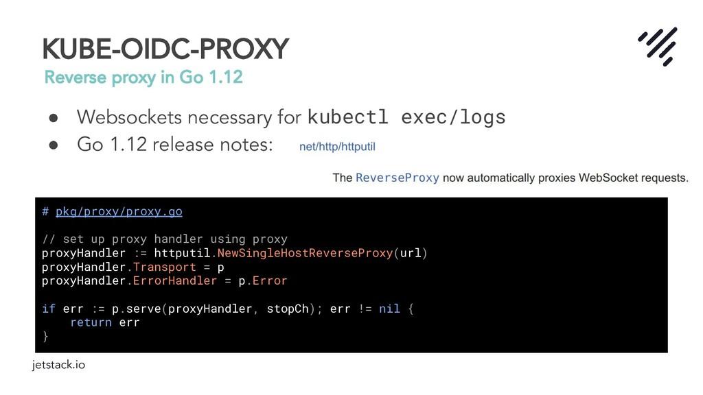 jetstack.io KUBE-OIDC-PROXY Reverse proxy in Go...