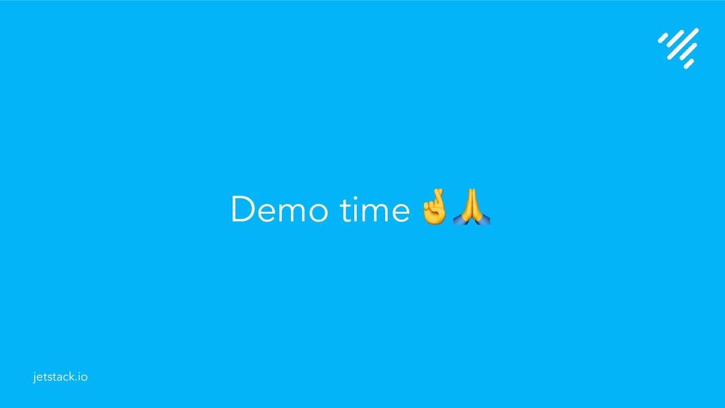 Demo time jetstack.io