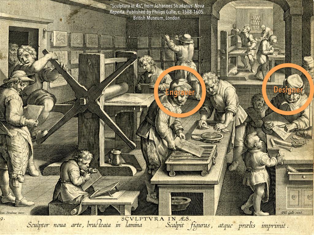 """Engraver Designer """"Sculptura in Æs"""", from Johan..."""