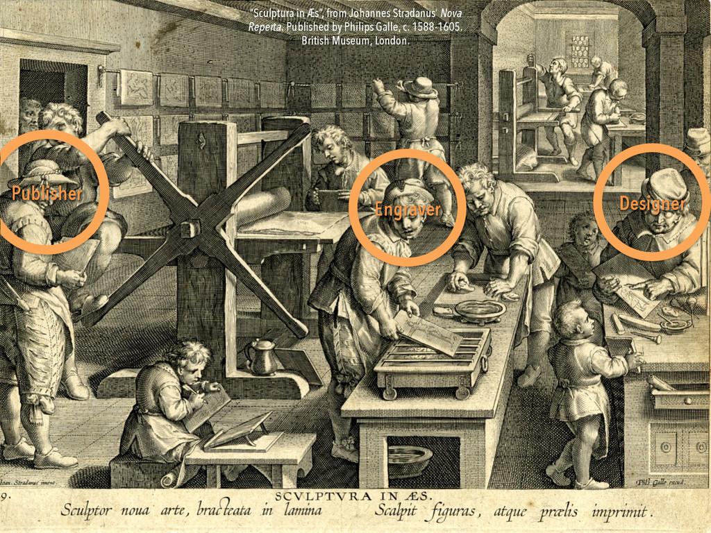 """Publisher Designer Engraver """"Sculptura in Æs"""", ..."""