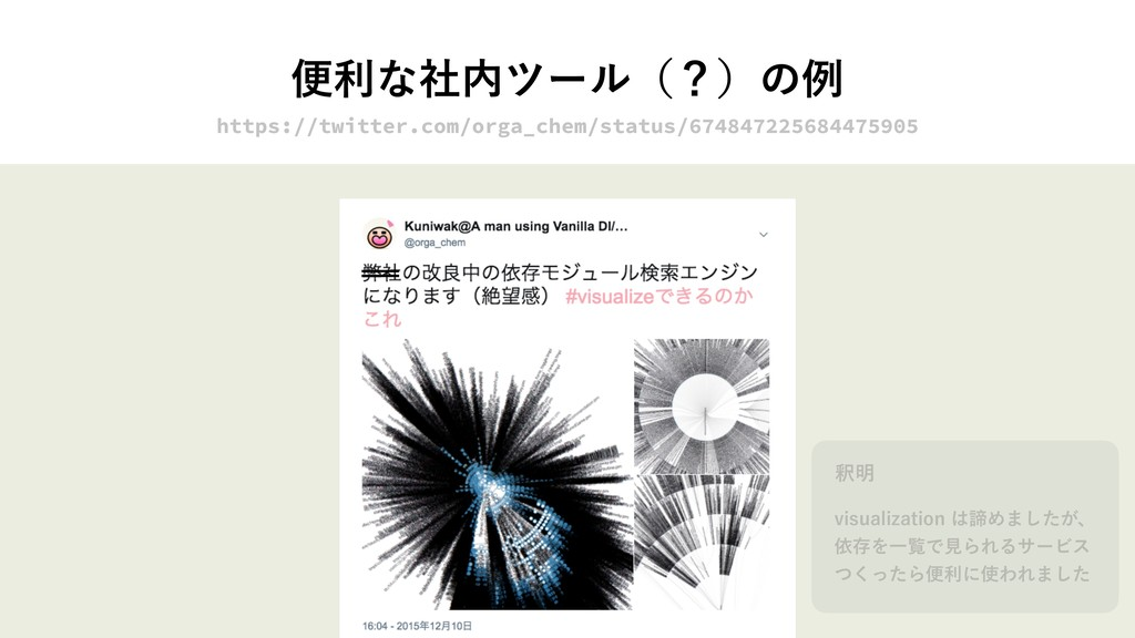 ศརͳࣾ಺πʔϧʢʁʣͷྫ https://twitter.com/orga_chem/sta...