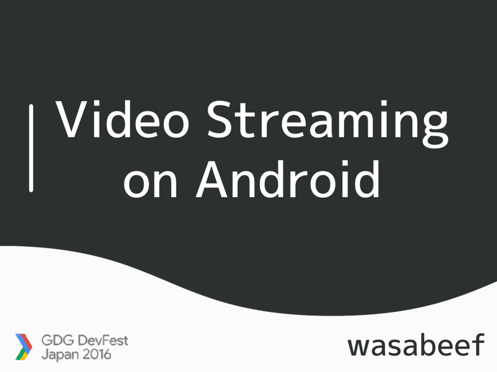 Video Streaming on Android wasabeef
