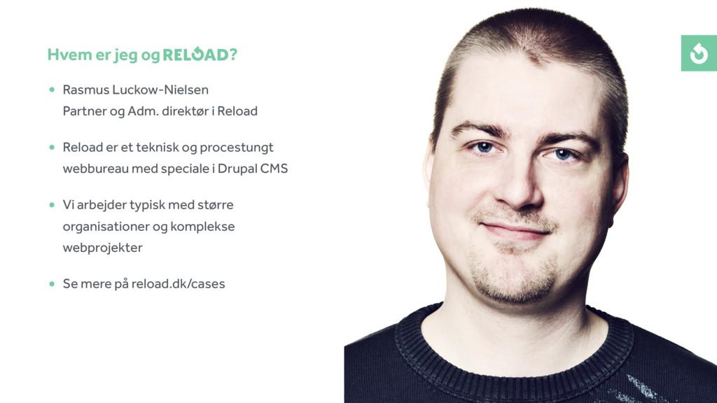 • Rasmus Luckow-Nielsen Partner og Adm. direkt...