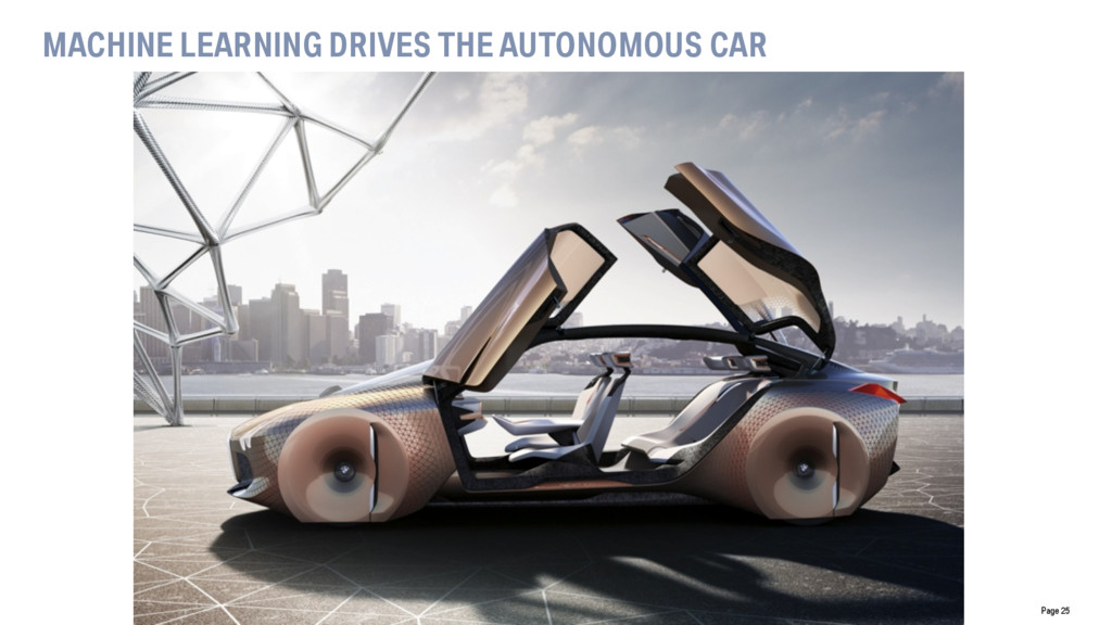 Page 25 MACHINE LEARNING DRIVES THE AUTONOMOUS ...