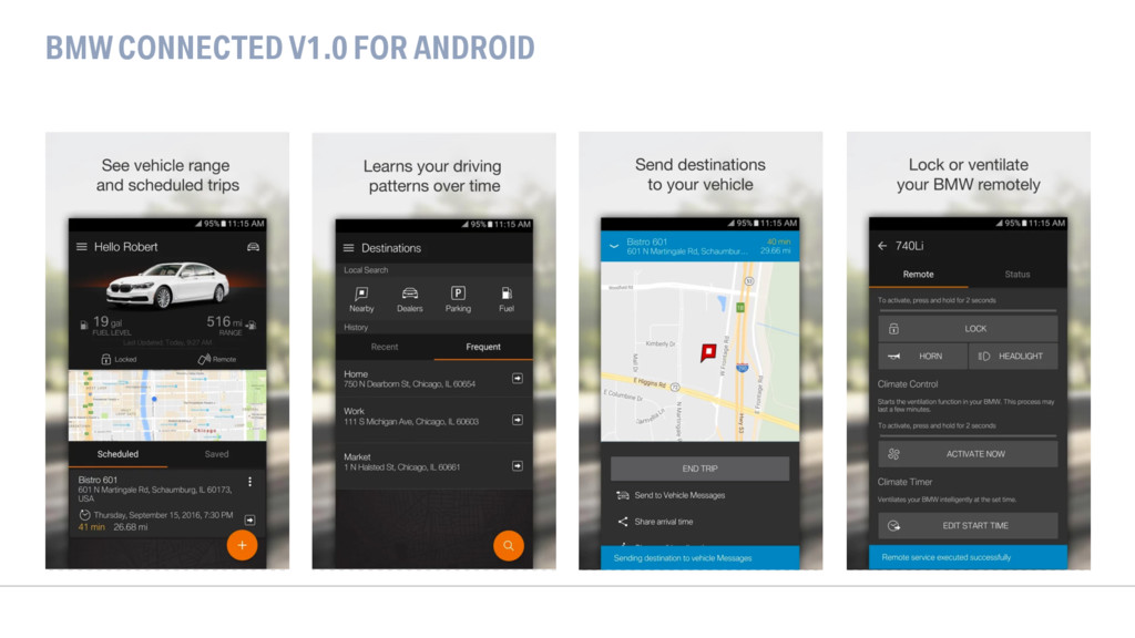 BMW CONNECTED V1.0 FOR ANDROID