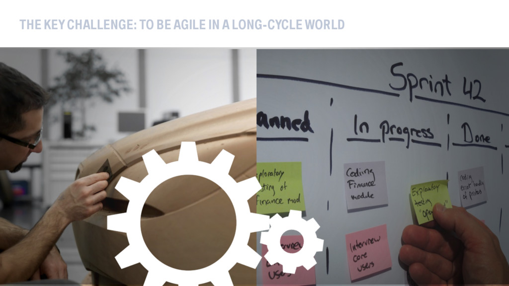 THE KEY CHALLENGE: TO BE AGILE IN A LONG-CYCLE ...