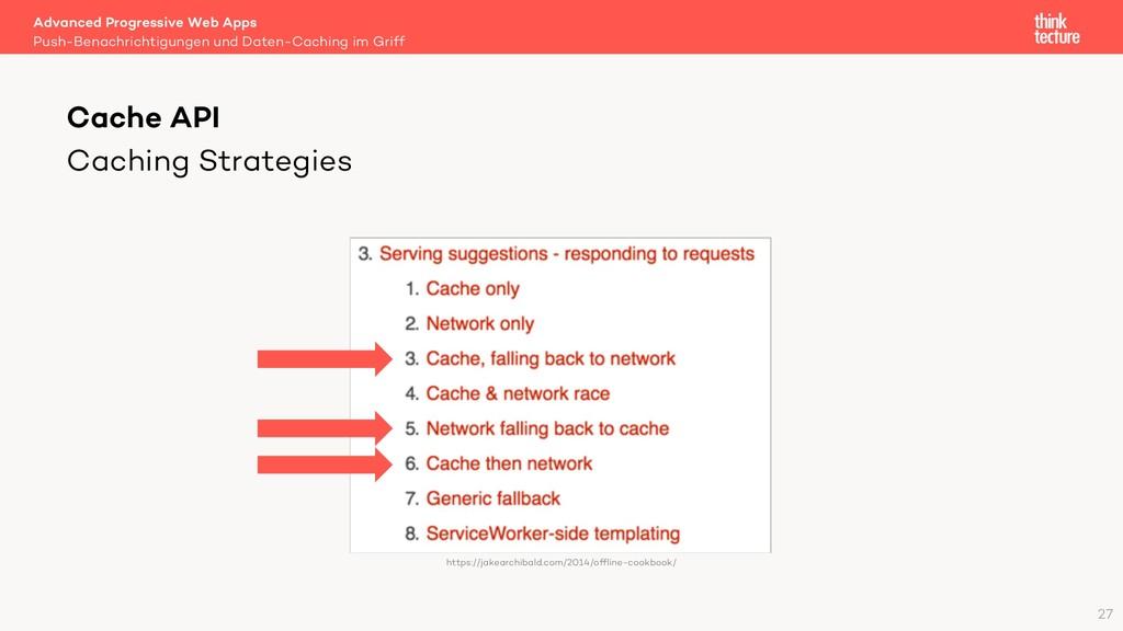 Caching Strategies Advanced Progressive Web App...