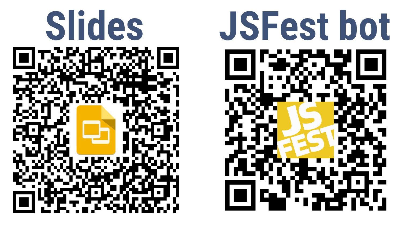 Slides JSFest bot