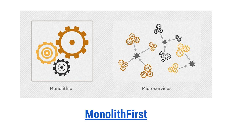 MonolithFirst