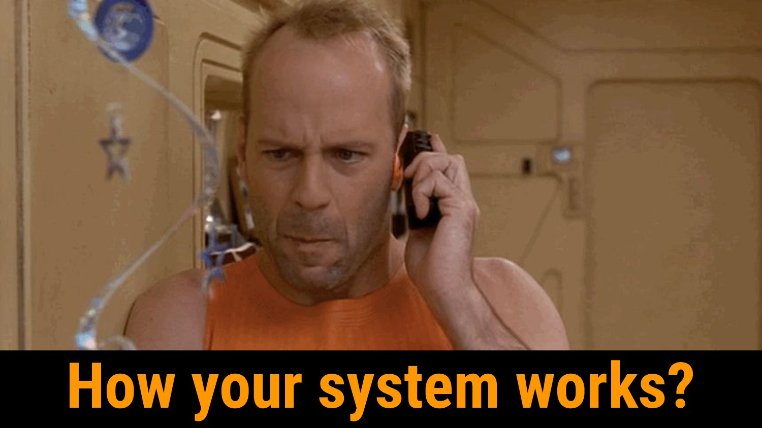 How your system works?