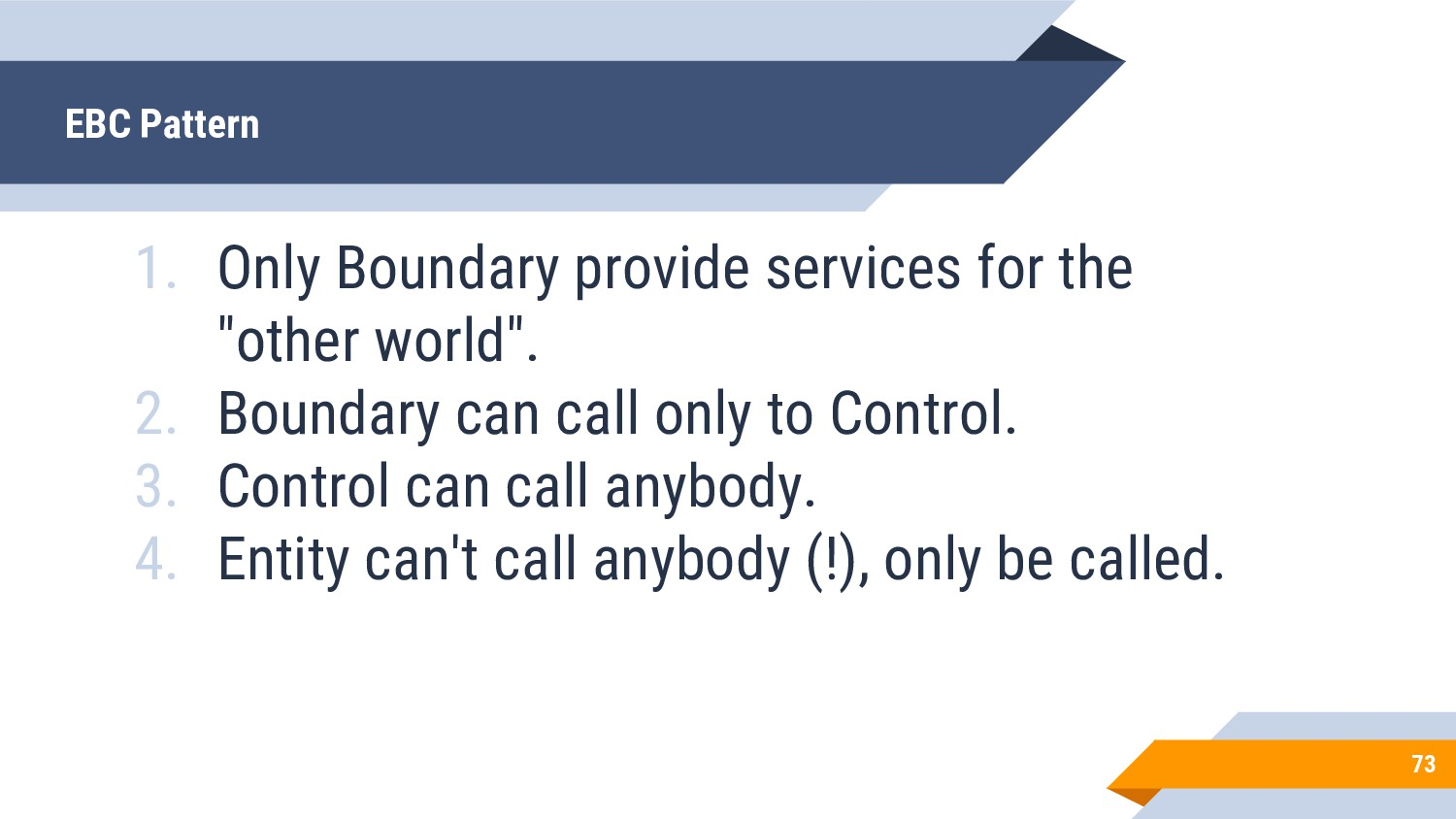 """1. Only Boundary provide services for the """"othe..."""