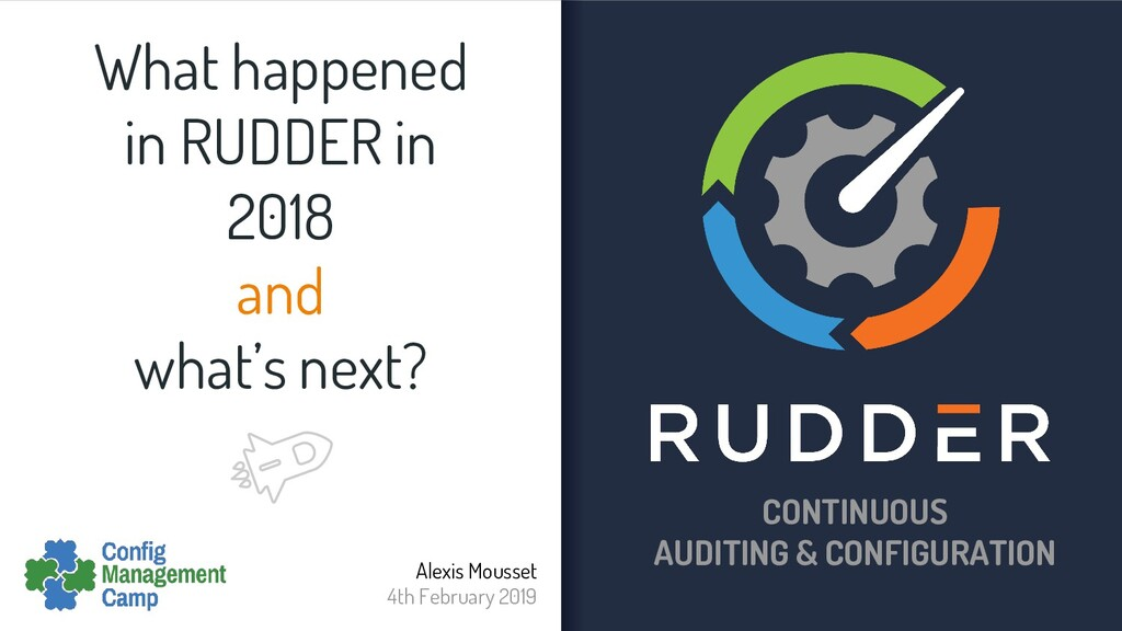 What happened in RUDDER in 2018 and what's next...