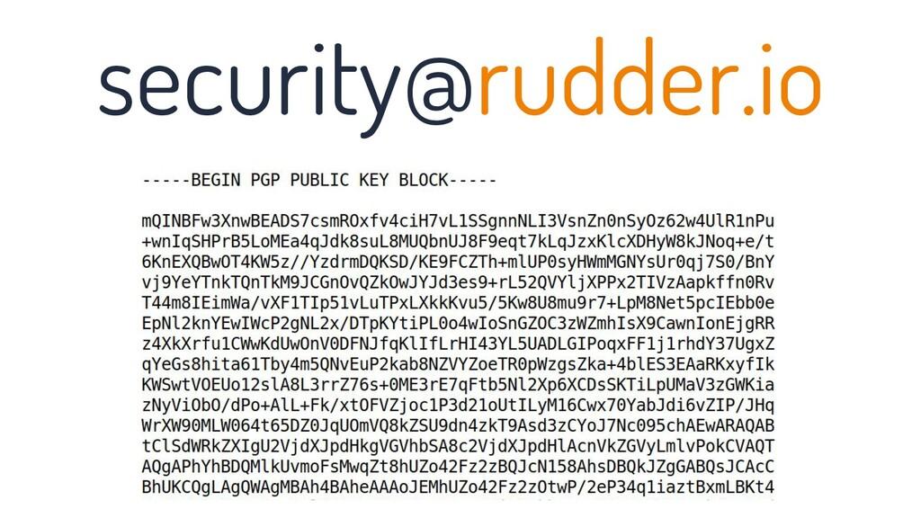 security@rudder.io