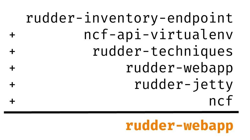 rudder-inventory-endpoint ncf-api-virtualenv ru...